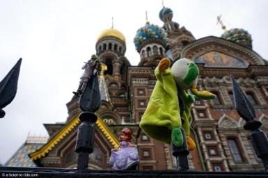Russie, Saint-Pétersbourg, basilique Saint-Sauveur-sur-le-sang-versé