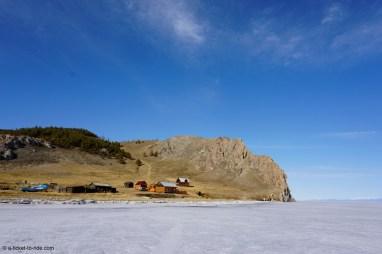 Russie, Olkhon, paysage