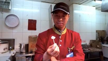 Chine, Pékin dégustation roquefort