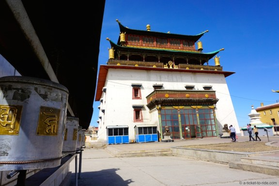 Mongolie, Oulan Bator, Gandan Khiid