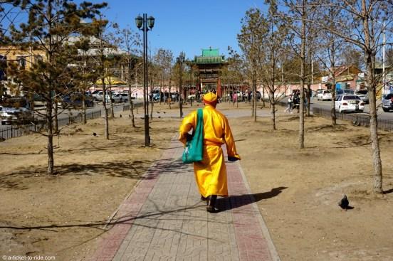 Mongolie, Oulan Bator, vers Gandan Khiid