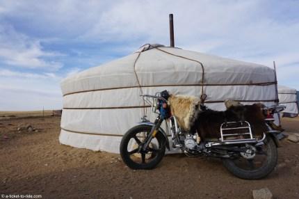 Mongolie, à moto