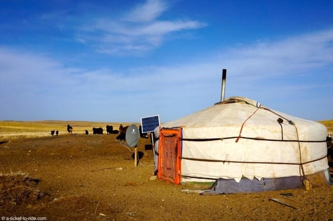 Mongolie, environs de Mandalgovi