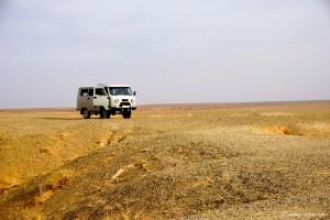 Mongolie, en voiture
