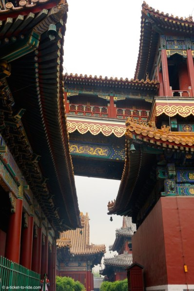 Chine, Pékin, Temple des lamas