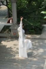 Chine, Xi'an, parc de la pagode de la grande oie sauvage