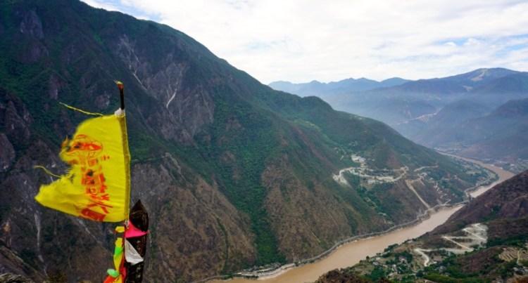 Chine, Yunnan, Gorges du saut du tigre