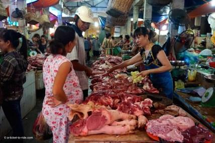 Vietnam, Cat Ba Island, le marché