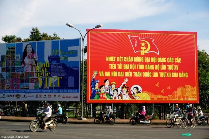 Vietnam, Hué, propagande