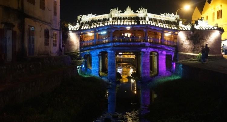 Vietnam, Hoi An, pont japonais