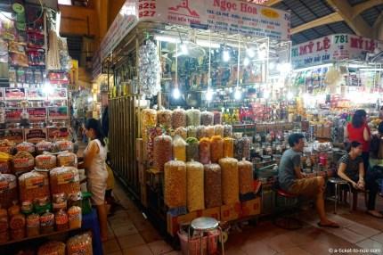 Vietnam, Saïgon, marché Ben Thanh