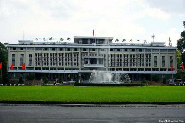 Ho Chi Minh Ville, palais de la Réunification