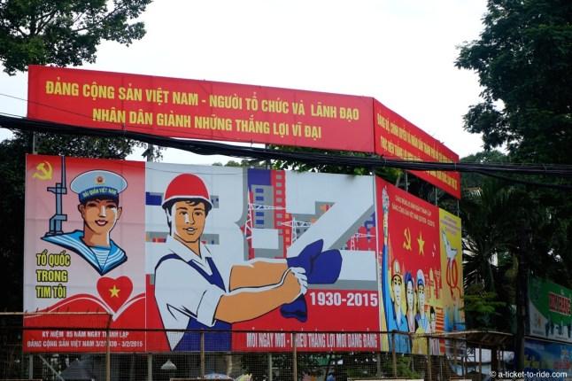 Vietnam, Saïgon, propagande