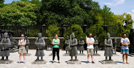 Vietnam, Hué, tombeau © On ira lama