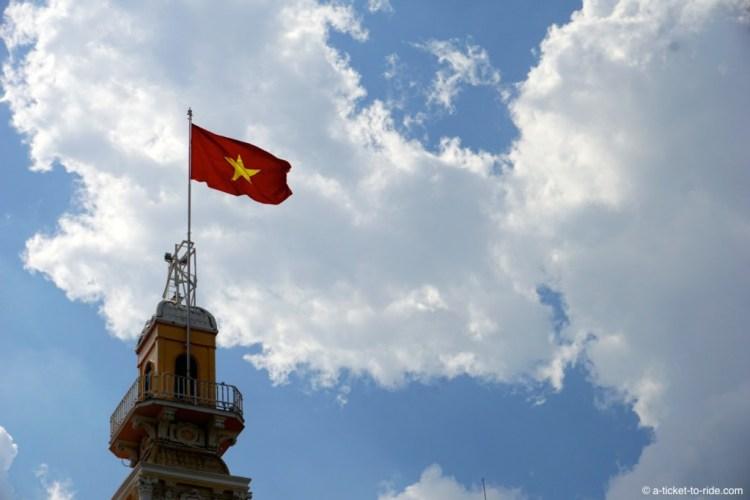 Vietnam, drapeau