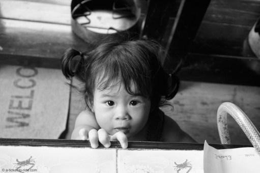 Thaïlande, Chiang Mai, fille de Da
