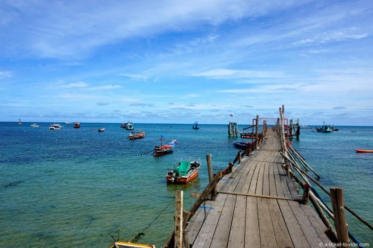 Thaïlande, Koh Tao, Mae haad bay