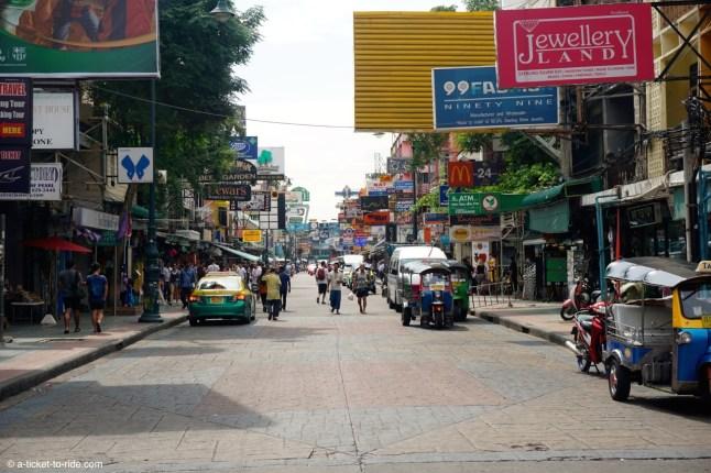 Thailande, Bangkok, Kao San Road