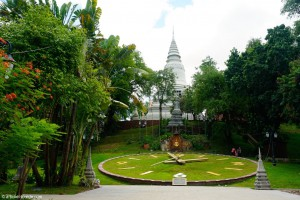 Cambodge, Phnom Penh, Vat Phnom