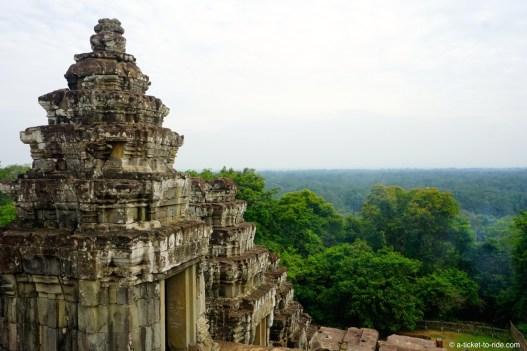 Cambodge, Angkor, depuis Phnon Bakheng