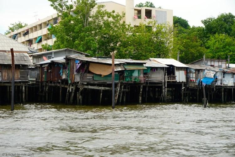 Thaïlande, Bangkok, canaux