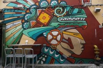Singapour, art mural