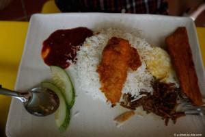 Singapour, nasi lemak