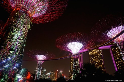 Singapour, Gardens by the bay