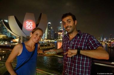 Singapour, du roquefort à déguster !