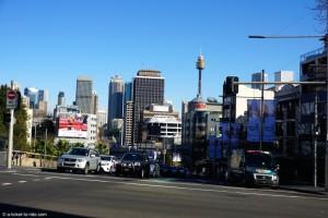 Australie, Sydney, vue depuis Kings Cross