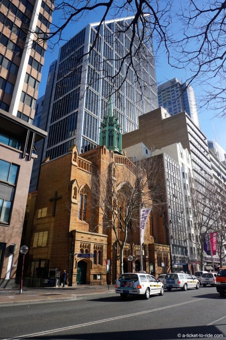 Australie, Sydney, ancien et moderne