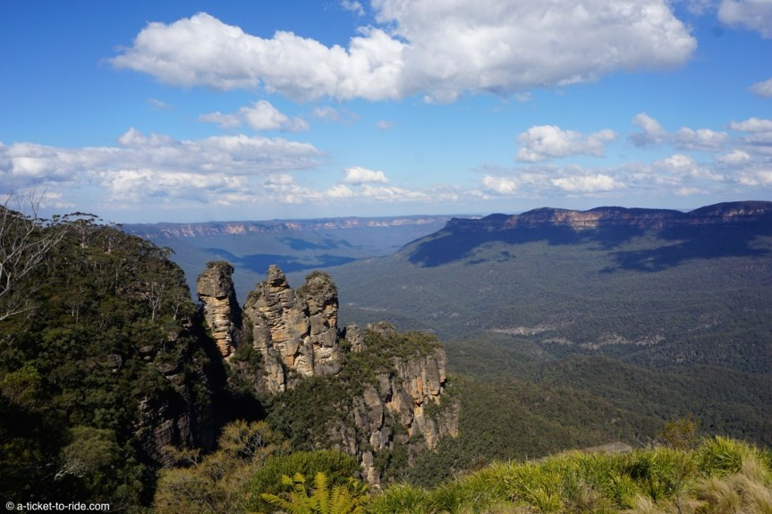 Australie, Blue Mountains, Three sisters lookout