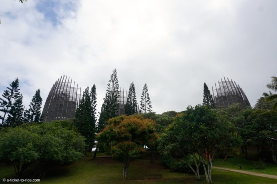 Nouvelle-Calédonie, Noumé, centre culturel Tjibaou