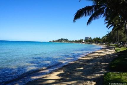 Nouvelle-Calédonie, Nouméa, anse Vata