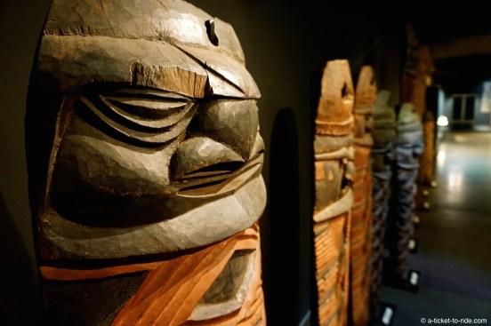 Nouvelle-Calédonie, Nouméa, musée de Nouvelle-Calédonie