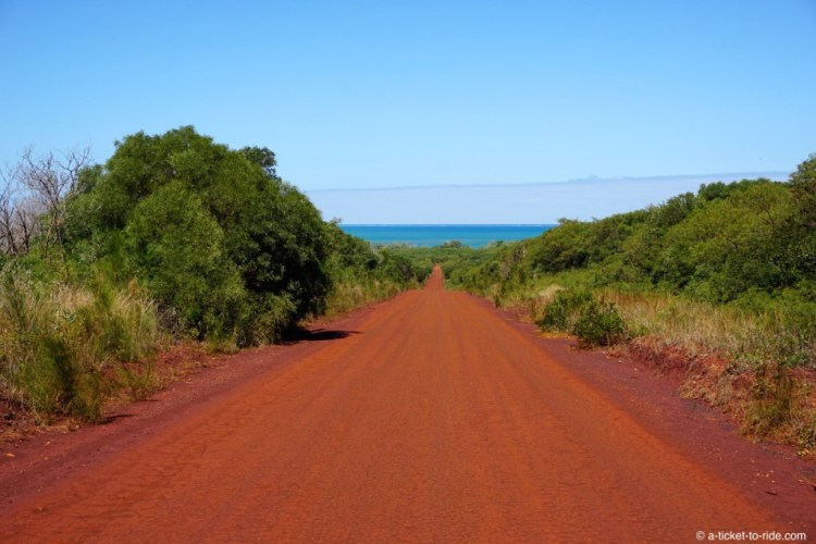 Nouvelle-Calédonie, plage de Pindai
