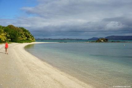 Nouvelle-Calédonie, baie de Banaré