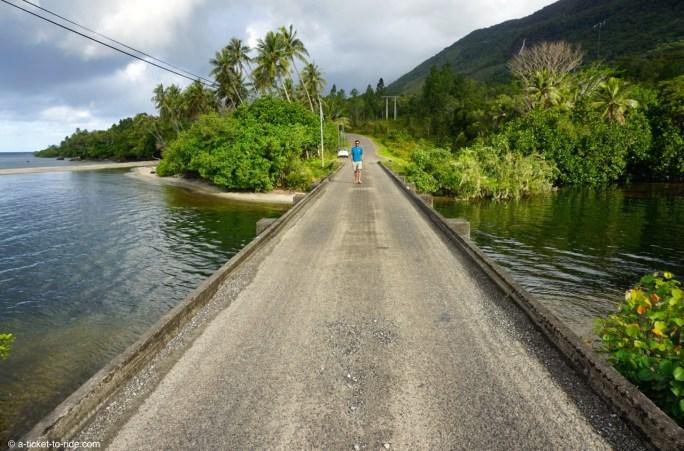 Nouvelle-Calédonie, entre Pouébo et Hienghène