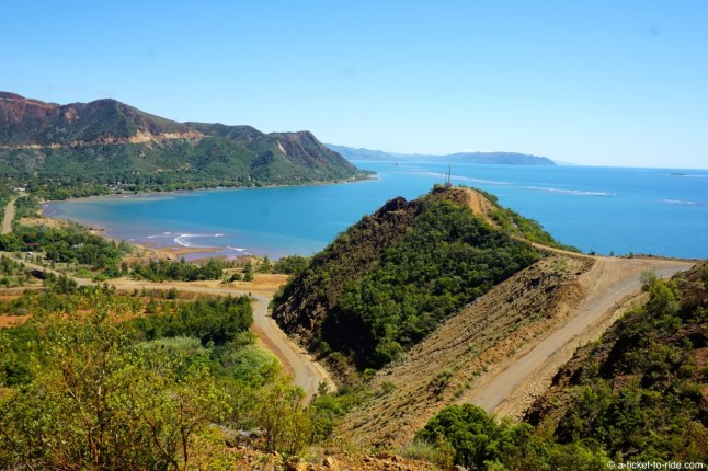 Nouvelle-Calédonie, début de paysage minier