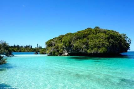 Nouvelle-Calédonie, Île des Pins, rocher de Kanuméra