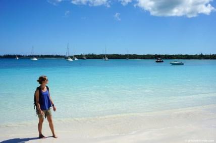 Nouvelle-Calédonie, Île des Pins, plage de Kanuméra