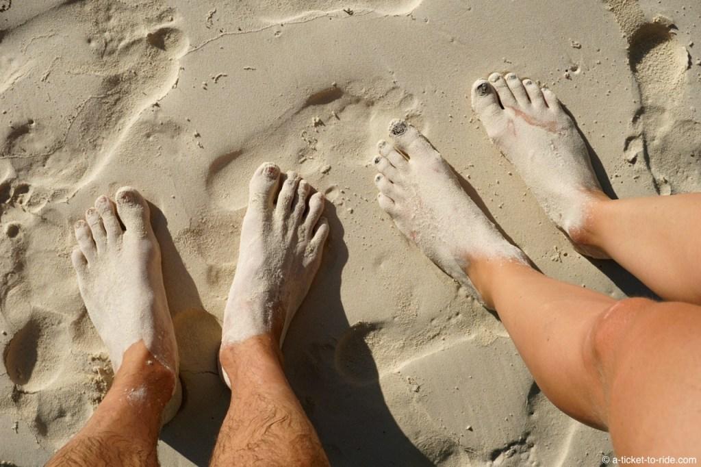 Île des Pins, sable blanc