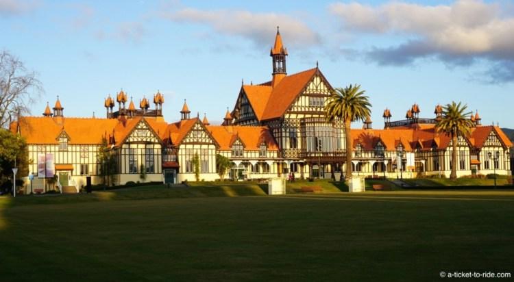 Nouvelle-Zélande, Rotorua museum musée