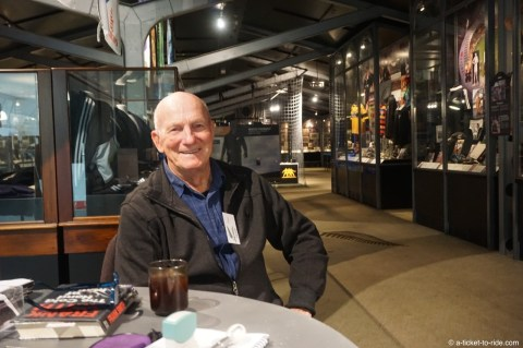 Nouvelle-Zélande, Palmerton North, musée du rugby, Franck le gardien