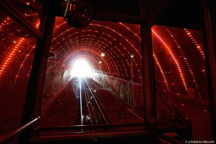 Nouvelle-Zélande, Wellington, tunnel cable car