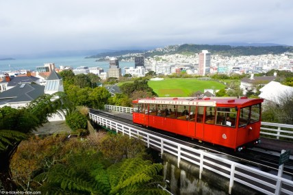 Nouvelle-Zélande, Wellington, cable car