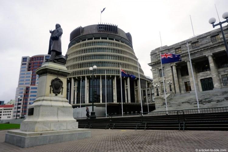 Nouvelle-Zélande, Wellington, Parlement