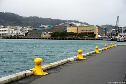 Nouvelle-Zélande, Wellington, sur les quais