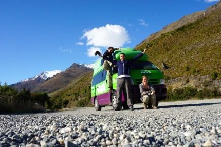 Nouvelle-Zélande, photo de famille
