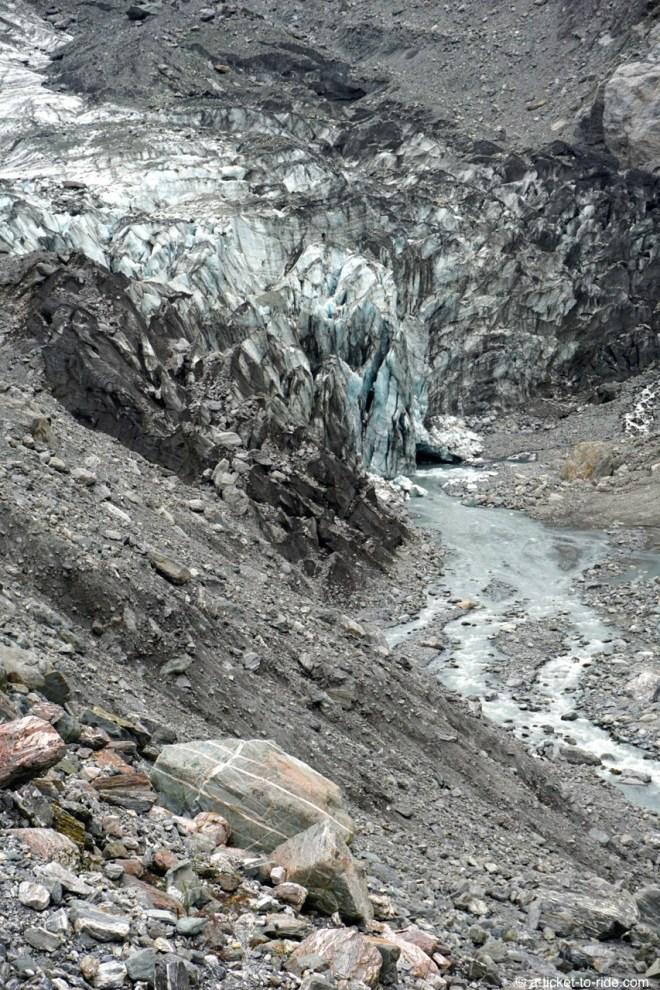 Nouvelle-Zélande, glacier Fox